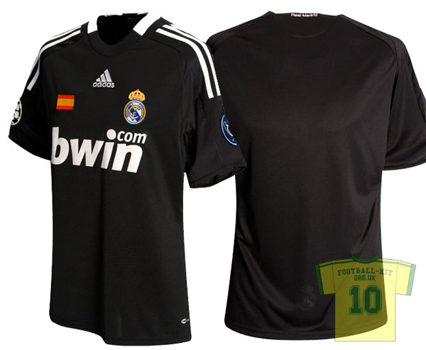 New Real Madrid 3rd European Away Shirt