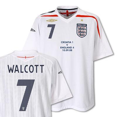 Theo Walcott England Shirt